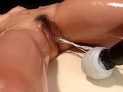 brunette homemade Busty blowjob