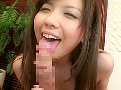 Horny Japanese girl in Incredible Rimming, Blowjob JAV video