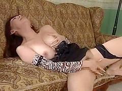 Crazy Japanese whore in Amazing MILF, Masturbation JAV video