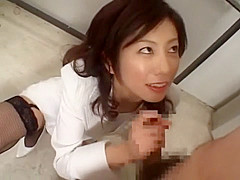 Amazing Japanese slut in Crazy Public, Stockings JAV scene