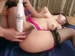Crazy Japanese slut in Hottest Stockings, Toys JAV scene