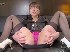 Incredible Japanese girl in Exotic Solo Female, Stockings JAV movie