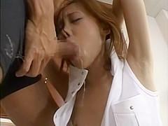 Horny Japanese whore in Fabulous Threesome, Fetish JAV movie