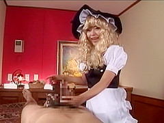 Hottest Japanese chick in Incredible Amateur, Cosplay JAV video