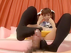 Exotic Japanese girl in Fabulous Stockings, Teens JAV clip