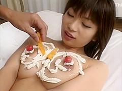 Amazing Japanese chick in Exotic Teens, Big Tits JAV scene