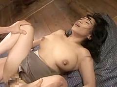 Fabulous Japanese model in Crazy Compilation, Cunnilingus JAV scene