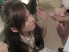 Hottest Japanese model in Exotic Amateur, Office JAV movie