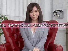 Japanese Panty Fetish - Masturbation In Whitle Lingerie