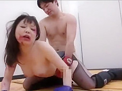 CUTE BIG TITS ASIAN WRESLTING