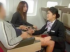 SDDE-138 Handjob Airline