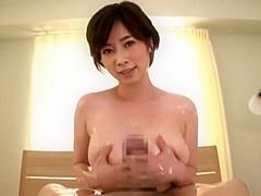 Greatest Japanese chick in Blowjob/Fera, Big Tits JAV clip uncut