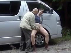 Fantastic Japanese whore in Incredible Bukkake JAV clip, it's amaising