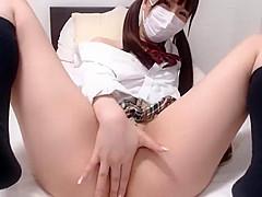 Wild Japanese girl in Fantastic JAV clip just for you