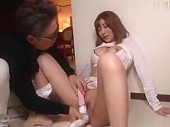 Japanese whore in Best Fetish, Handjobs JAV video full version