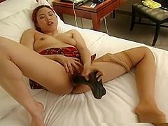Lovely Asian girl bounded by other lesbian hottie!