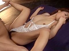Hot Asian Threesome With Ai Kurosawa