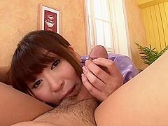 Jun Kusanagi knows how to handle a huge dick