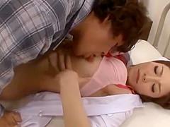 Japanese Nurse's Stethoscope Play