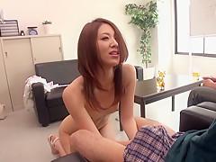 Riko Miyase in The Amateur Daughter part 1