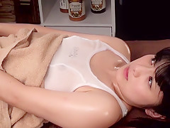 Best Japanese chick Amateur in Amazing squirting JAV clip