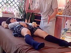 Hottest Japanese whore Kurumi Tachibana, Kurumi Kasuga, Kokomi Hayama, Amateur in Incredible massage JAV video