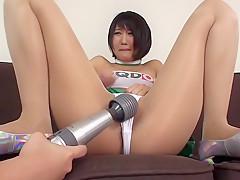 Crazy Japanese chick Riku Minato in Hottest masturbation, couple JAV scene