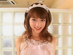 Fabulous Japanese girl Mai Kitamura in Exotic Fishnet, Stockings/Pansuto JAV clip
