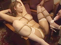 Best Japanese girl Maya Sawamura in Hottest Stockings/Pansuto, Orgasm JAV movie