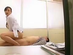 Amazing Japanese girl Yuki Natsume, Nana Usami, Shizuka Kanno in Horny Medical, Cunnilingus JAV movie