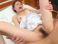 Crazy Japanese slut Akiho Yoshizawa in Best Nurse/Naasu, Face Sitting JAV scene