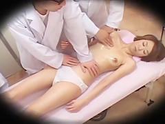 Hottest Japanese chick in Amazing Voyeur, Massage JAV movie