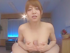 Fabulous Japanese chick Akiho Yoshizawa in Crazy Small Tits, Blowjob/Fera JAV clip