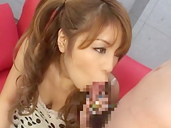 Crazy Japanese slut Nanami Takase in Amazing Masturbation/Onanii, Girlfriend JAV movie