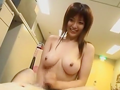 Best Japanese whore Sakura Shiratori in Exotic Office, Public JAV video