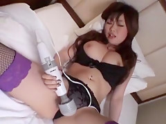 Horny Japanese girl Rio Hamasaki in Fabulous Masturbation/Onanii, Showers JAV clip