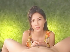 Exotic Japanese slut Anri Suzuki in Fabulous Blowjob/Fera, POV JAV movie