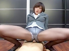 Hottest Japanese slut Shinobu Kasagi in Exotic Face Sitting, POV JAV movie