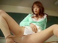 Exotic Japanese whore Ai Himeno in Crazy Solo Girl, Dildos/Toys JAV video