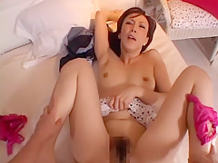 Hottest Japanese girl Akari Hoshino, Rei Kitajima, Mirai Hirooka in Fabulous POV, Fingering JAV clip