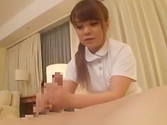 Fabulous Japanese model Mika Horii in Hottest Handjobs, Fingering JAV video