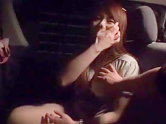 Best Japanese slut Mayuka Akimoto in Incredible Car, Big Tits JAV scene