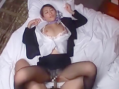 Best Japanese whore Aoki Misora in Crazy Secretary, POV JAV movie