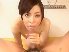 Horny Japanese chick Aya Sakurai in Crazy Big Tits, POV JAV video