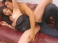 Tit fuck cum between tits