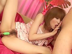 Amazing Japanese model Rika Sakurai in Hottest JAV uncensored Co-ed clip