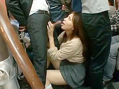 Crazy Japanese girl in Incredible Big Tits JAV clip