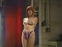 Amazing Japanese girl in Incredible BDSM JAV scene