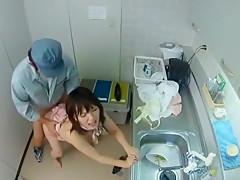 Fabulous Japanese chick Kaede Oshiro, Kana Ohori in Incredible Censored, Hairy JAV clip
