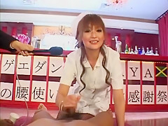 Horny Japanese chick in Hottest Public, Live shows JAV scene